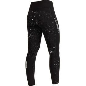 Salming Reflective Tights Women Black/Silver Reflective